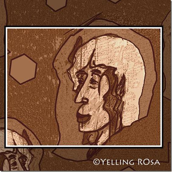 Meditating 2012 © Yelling Rosa