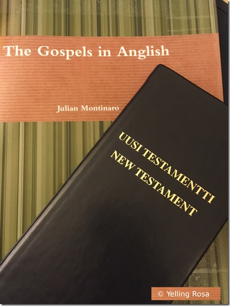 The Gospels in Anglish © Yelling Rosa 2018 Smaller