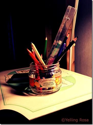 Pen Jar © Yelling Rosa