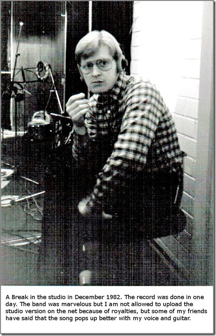 The Break In the Studio in 1982